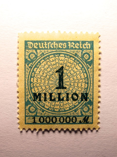 Briefmarke 1 Million Mark