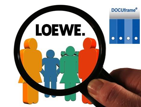 CRM Projekt bei Loewe mit DOCUframe von GSD
