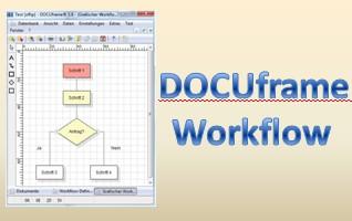 DOCUframe, Prozesse und Workflows